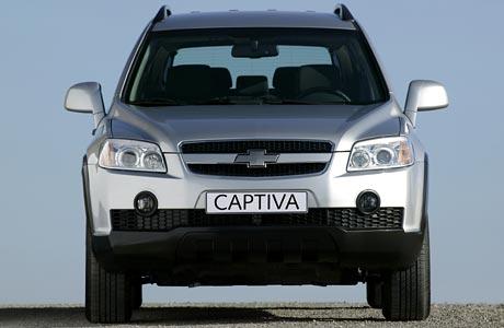 Chevrolet Captiva: všechny české ceny