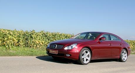 Mercedes-Benz CLS: trefa do �ern�ho