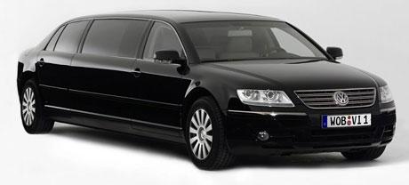 Volkswagen Phaeton Lounge: sedm metrů délky