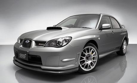 Subaru S204: Když je obyčejné STI málo...