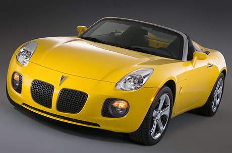 Pontiac Solstice GXP: malá motorová revoluce