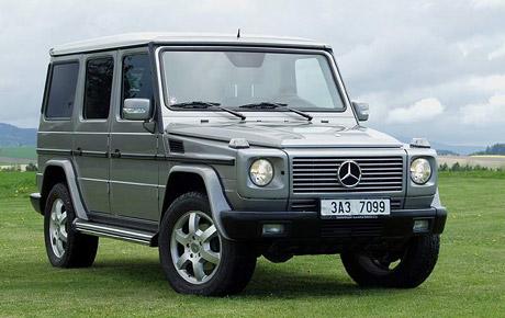 Mercedes-Benz G zůstává v nabídce i v roce 2006