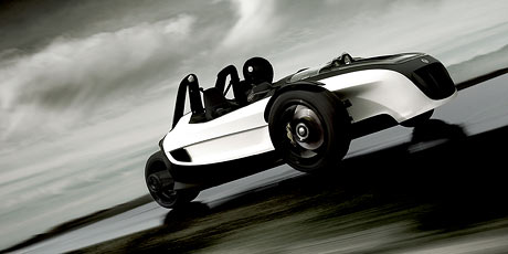 Volkswagen GX3: tři kola pro LA