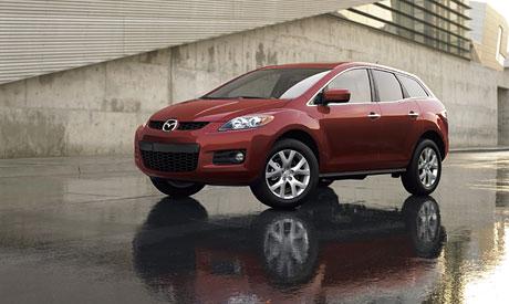 Mazda CX-7: oficiální fotografie a informace