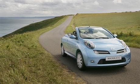 Nissan Micra C+C na �esk�m trhu od 509.000,-K�