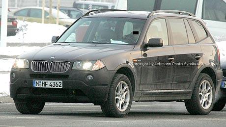 Spy photos: BMW X3 Facelift