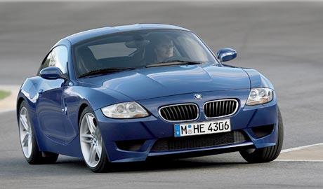 BMW Z4 Coupé a Z4 M Coupé: rychle a zběsile