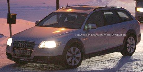 Spy Photos: nové Audi Allroad
