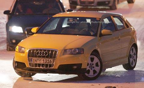 Spy photos: Audi S3