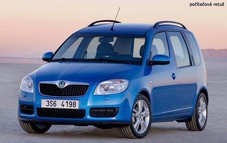 Škoda Roomster: retuš čtenáře versus originál