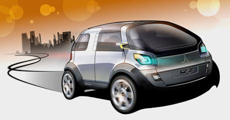 Mitsubishi Concept-EZ MIEV: druhá novinka pro Ženevu