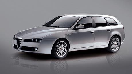 Alfa Romeo 159 Sportwagon: prostor a sport