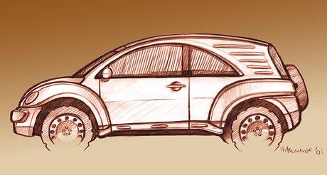 EDAG Biwak: tak trochu jin� New Beetle