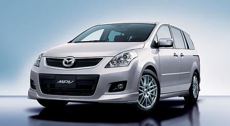 Nová Mazda MPV: prodej na japonském trhu zahájen