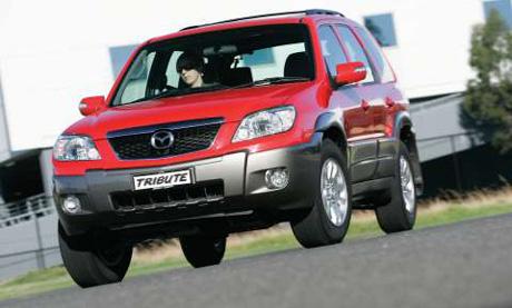 Mazda Tribute: omlazený horal