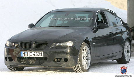 Spy photos: BMW M3