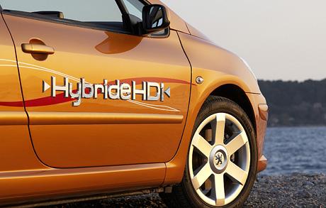 Peugeot 307 CC Hybride HDi: první hybridní kupé-kabrio