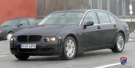 Spy photos: nové BMW řady 7