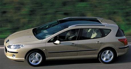 Peugeot 407 SW od 569 000 Kč