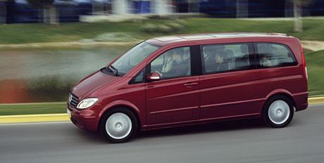 Mercedes-Benz Viano: nový top diesel