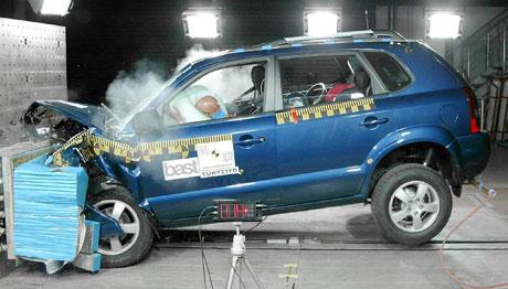 Euro NCAP: Alfa 159, Hyundai Tucson, Kia Cerato, Peugeot 207, Suzuki SX4