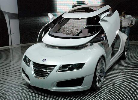 Ženeva živě: Saab Aero X - lítám na etanol