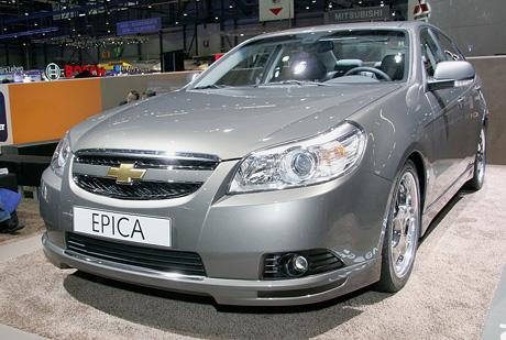 Ženeva živě: Chevrolet Epica (první dojmy)