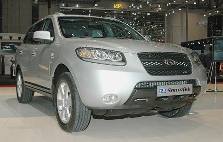 Ženeva živě: Hyundai Santa Fe (první dojmy)