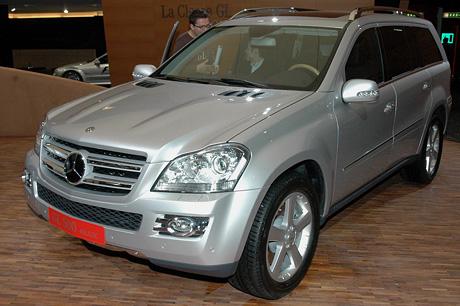 Ženeva živě: Mercedes-Benz GL (první dojmy)