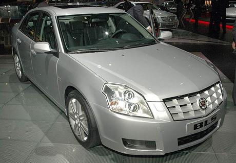 �eneva �iv�: Cadillac BLS (prvn� dojmy)
