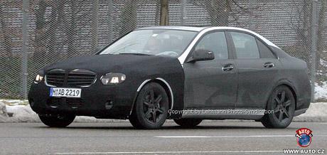 Spy photos: nový Mercedes-Benz třídy C