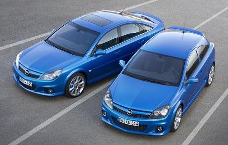 Opel Astra OPC a Vectra OPC v ČR: smečka kompletní