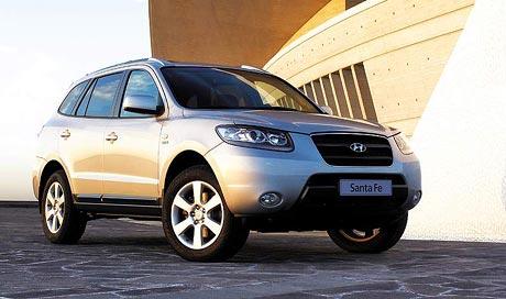 Hyundai Sante Fe 2007: vyšší výkon, vyšší cena, nižší spotřeba