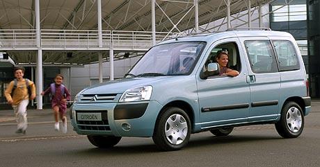 Citroën nabídne tři modely na zemní plyn
