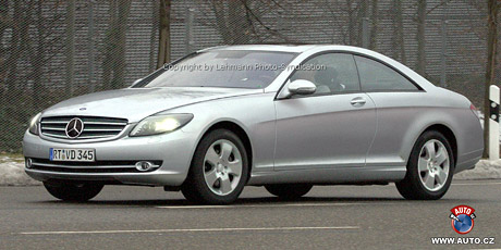 Spy photos: Mercedes-Benz CL