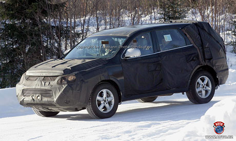 Spy photos: Hyundai Terracan