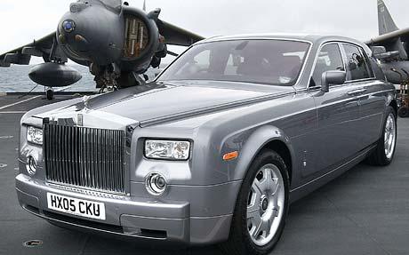 Rolls-Royce u kormidla letadlové lodi HMS Illustrious