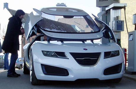 Saab Aero X: i koncepty musí občas tankovat