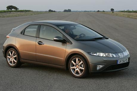 Honda Civic � ocen�n� designu