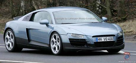 Spy photos: Audi R8 (tečkované)