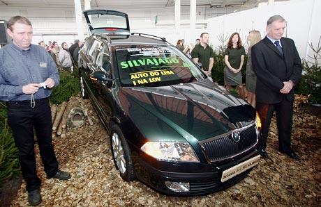 Škoda Octavia Combi 4x4 v úpravě pro lesníky a myslivce