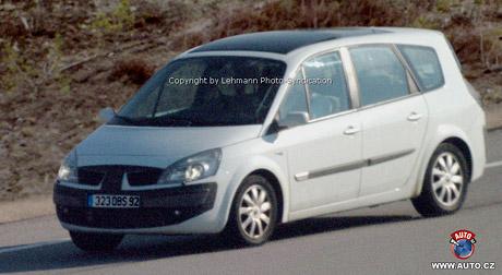 Prvn� fotografie: Renault Scenic po faceliftu