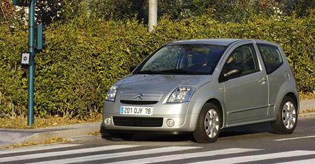 Citroën C2 Stop & Start: šetření po francouzsku