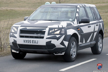 Spy Photos: Land Rover Freelander