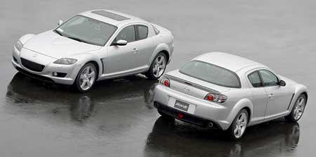 Mazda RX-8: 100.000 ks za 18 měsíců