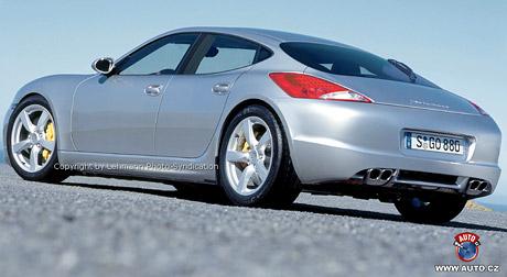 Spy Photos: První fotografie Porsche Panamera