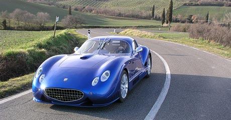 Faralli & Mazzanti: ANTAS V8 GT