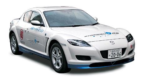 Dv� Mazdy RX-8 Hydrogen RE do slu�eb japonsk�ch ��ad�