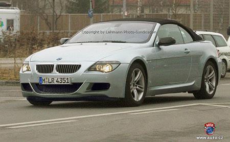 Spy photos: první snímky BMW M6 Cabrio