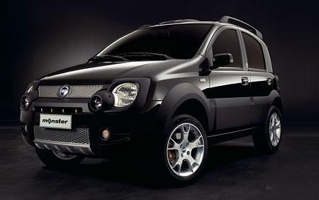 Fiat Panda Monster: Fiat s příchutí Ducati